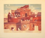 Ramon Llovet, Coloms. Lithographie