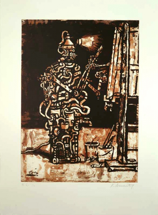 Xano Armenter, The Assistant (Der Künstler) (1992)