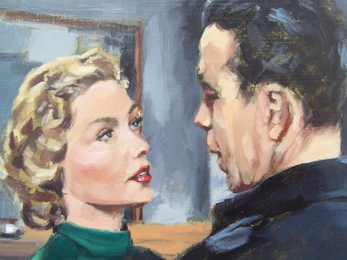 Humphrey Bogart and Gloria Grahanne, Thomas de Marsay - Galerie